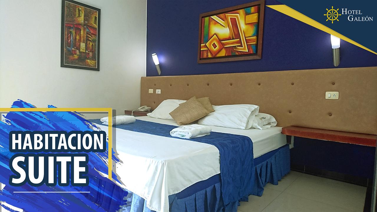 habitacion suite en hotel galeon girardot